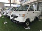 Bán Suzuki 7 tạ mới 100% nhập khẩu , màu trắng, có điều hòa, có trợ lái, 312tr LH 0911.935.188