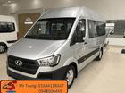 Giá bán Hyundai H350 Solati 16 chỗ màu bạc. Có sẵn, hỗ trợ trả góp