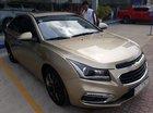 Bán Chevrolet Cruze LTZ 1.8AT màu vàng cát, số tự động, sản xuất 2016, biển Sài Gòn