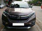 Bán Honda CR-V 2.0 AT sản xuất 12/2016 màu nâu, nội thất kem, số tự động, biển Hà Nội