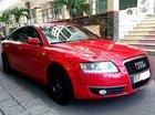 Cần bán rẻ siêu xe Audi A6 đời 2006, màu đỏ, nhập khẩu nguyên chiếc, giá chỉ 495tr