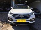 Bán Hyundai Santa Fe 2.4L đời 2017, màu trắng