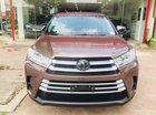 Bán Toyota Highlander 2017 LE màu nâu sậm, xe mới 100%