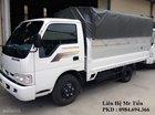 Bán xe Kia K3000S 1400kg đời 2018, thùng lửng, bạt, kín, 0984694366, thủ tục nhanh gọn