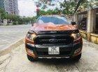 Bán xe Ford Ranger Wildtrak 3.2 AT 4x4 2017, màu vàng cam