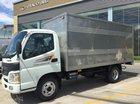 Bán xe Thaco Aumark 500A thùng kín 4m2, màu trắng, trả góp