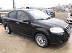 Cần bán xe Daewoo Gentra Sx đời 2011, màu đen