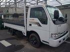 Bán xe tải 2.4 tấn Kia K165S mui bạt, màu trắng, máy cơ, hỗ trợ trả góp