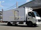 Đại lý xe tải Hino 3T5 đông lạnh, hỗ trợ trả góp 90%