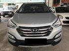 Bán Hyundai Santa Fe 2.4L đời 2017, màu bạc