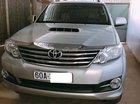 Cần bán xe Toyota Fortuner 2.5G 2016 màu bạc