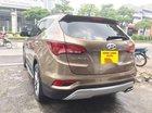 Bán Hyundai Santa Fe màu nâu, máy xăng, hai cầu bản đủ sản xuất năm 2017