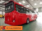 Bán xe 47chỗ Thaco 2018 máy lớn 375, xe khách Thaco bản cao cấp