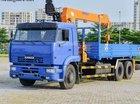 Bán xe tải cẩu Kamaz 65117 (6x4) Dinex 7 tấn giá rẻ