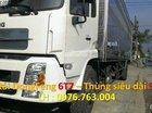 Bán xe Dongfeng 6.7T, thùng kín 9m3, vay vốn trả góp, giá tốt tại Miền Nam