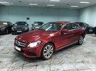 Bán xe Mercedes C200 đỏ 2018 chính hãng, trả trước 450 triệu nhận xe ngay