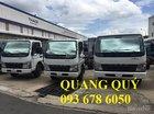 Xe tải Canter tải trọng 3,5 tấn mới. Giá xe tải Mitsubishi Canter 3,5 tấn mới thùng kín