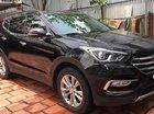 Bán Hyundai Santa Fe 2.4L năm 2017, màu đen