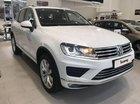 Cần bán lại xe Volkswagen Touareg 3.6 V6 năm 2018, màu trắng, nhập khẩu nguyên chiếc số tự động