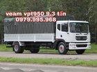 Bán xe Veam VPT950 9.3 tấn, cabin kép, thùng dài 7.6m, tiêu chuẩn Euro 4, giá rẻ