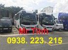 Thông tin xe 29 chỗ bầu hơi TB85 E4 2018 Thaco mới nhất hiện nay