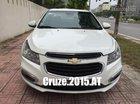 Bán Chevrolet Cruze LTZ, số tự động, màu trắng SX cuối 2015, fom mới