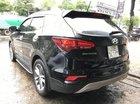 Bán ô tô Hyundai Santa Fe 2.4AT 4WD sản xuất năm 2017, màu đen