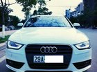 Bán Audi A4 màu trắng sản xuất cuối 2012, biển Hà Nội