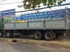 Bán xe tải trên 10 tấn Howo A7 đời 2015, màu xanh lục, xe nhập