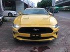 Bán Ford Mustang 2.3 Ecoboost đời 2018, màu vàng, Nhập Mỹ, có sẵn giao ngay
