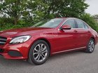 Bán xe Mercedes C200 đỏ 2018 chính hãng, trả trước 450 triệu, rinh xe về