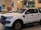 Ford Yên Bái bán xe Ford Ranger Wildtrak 3.2 màu trắng sx 2018. LH 094.697.4404