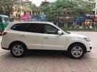 Gia đình muốn bán Hyundai Santafe màu trắng 2012, AT, dầu, full option. Xe gia đình đập thùng mới