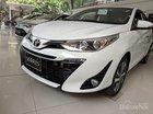 Cần bán Toyota Yaris 1.5G năm 2019, màu trắng, xe nhập