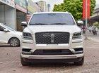 Bán Lincoln Navigator L Black Label màu trắng, nội thất nâu đỏ, xe sản xuất 2018, nhập khẩu nguyên chiếc mới 100%