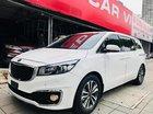 Used Car Việt Nam bán Kia Sedona 2.2 máy dầu, sản xuất năm 2017, màu trắng