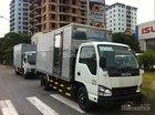 Bán xe tải Isuzu 2.4 tấn thùng kín tại Thái Bình