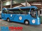 Bán xe khách 29 chỗ, 34 chỗ Tracomeco Universe máy Weichai, Doosan