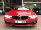 BMW 3 Series 320i sản xuất 2016 đăng ký 05.2018, màu đỏ, biển Hà Nội