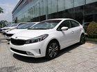 Bán ô tô Kia Cerato SMT đời 2018 trắng, giá cạnh tranh, hỗ trợ vay 85%
