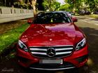 Bán ô tô Mercedes-Benz E class đời 2018 màu đỏ, giá 2 tỷ 590 triệu