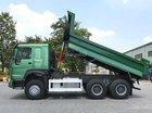Bán xe ben Howo 3-4 chân (thùng 13 khối) giá góc nhà máy, hỗ trợ trả góp 80% giá trị xe