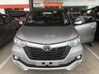 Toyota Avanza 1.3E màu bạc, nhập khẩu nguyên chiếc, 537tr
