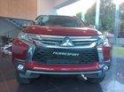 Cần bán Mitsubishi Pajero Sport AT phiên bản máy dầu đầu tiên năm 2018, màu đỏ, xe nhập khẩu nguyên chiếc Thái Lan