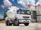 Xe bồn trộn Fuso FJ Mixer 2528C RMC (7 Khối)/tiêu chuẩn Đức, giá sốc, lãi sất thấp, vay tới 70%