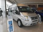 Bán Ford Transit bản Luxury giá chỉ từ 760 triệu, gói khuyến mãi hấp dẫn, trả trước 180 triệu nhận xe, 0902 724 140