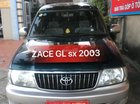 Cần bán Toyota Zace 1.8GL đời 2003, hai màu