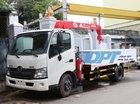 Bán xe Hino XZU 720 gắn cẩu UNIC 230, tải trọng 2.9 tấn, thùng dài 4.6m