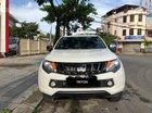 [Siêu giảm] Mitsubishi Triton, màu trắng, xe nhập Thái, lợi dầu 7L/100km, trả góp 80%. LH: 0905.91.01.99