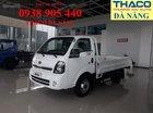 Thaco Đà Nẵng bán xe tải Kia K250 tải trọng 2T4 đời 2018, bảo hành 3 năm có hỗ trợ trả góp
